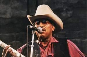 Otis Rush performing at Notodden bluesfestival, Norway, in 1997