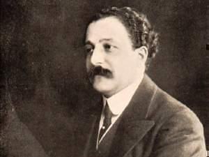 Monteux during his conductorship of Les Ballets Russes, c. 1912
