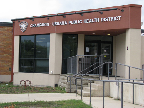 Champaign-Urbana Public Health District office building.