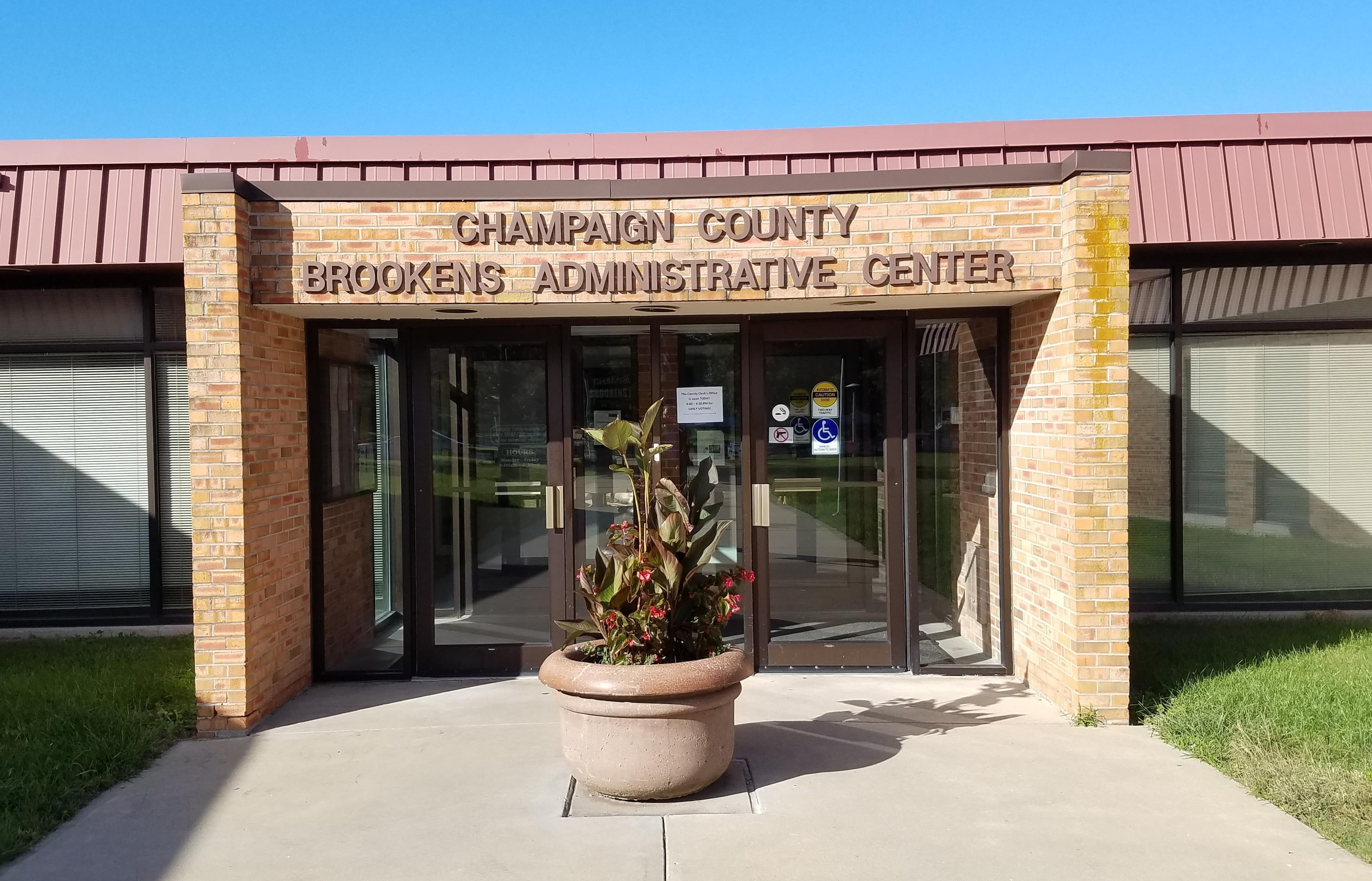 Champaign County Brookens Administrative Center in Urbana, IL.