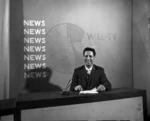 Henry Lippold taught broadcast journalism at the University of Illinois and anchored the evening news on WILL-TV in the 1960s.