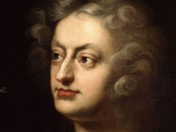 painting of Henry Purcell's face