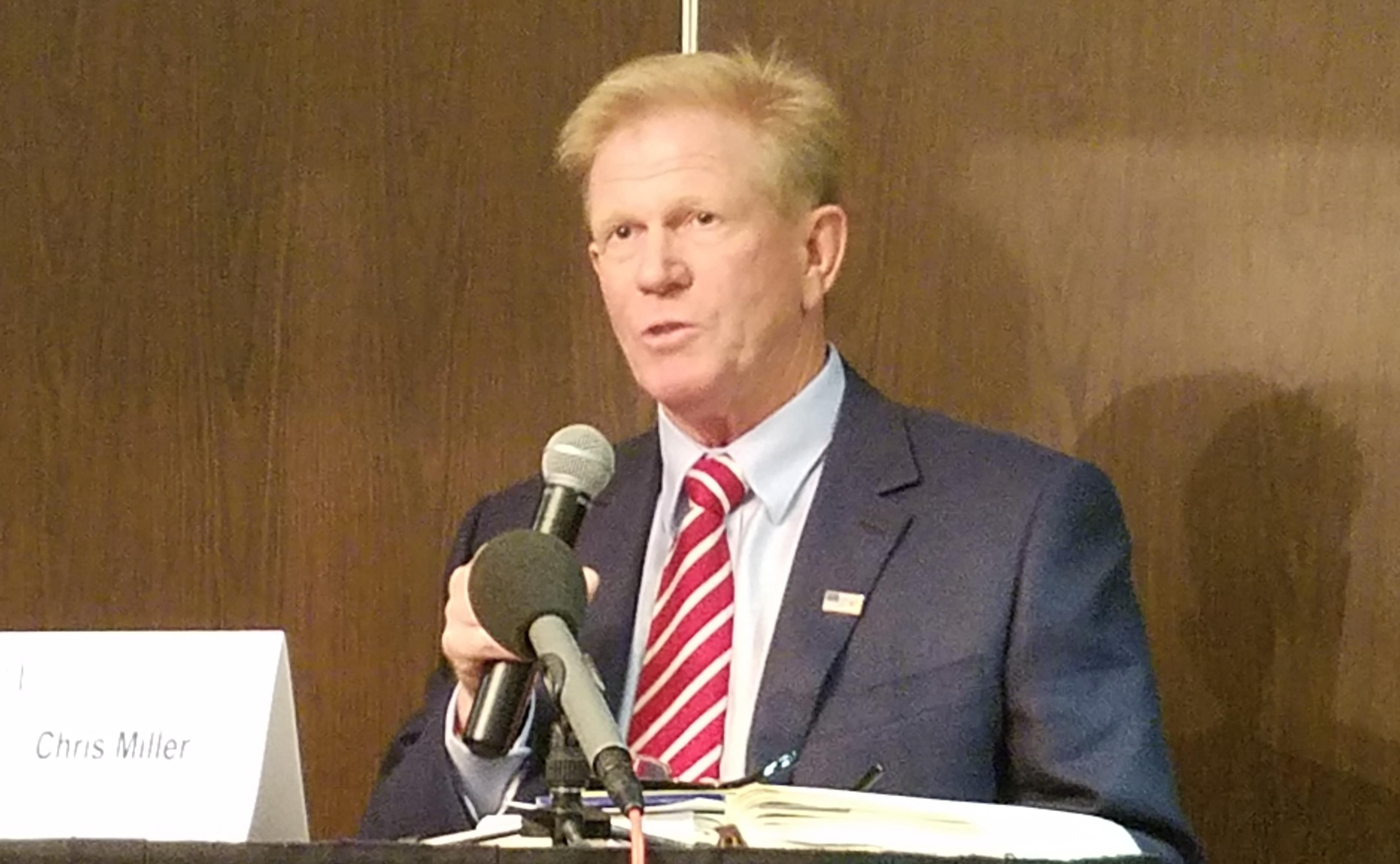 Republican 110th Illinois House District candidate Chris Miller.