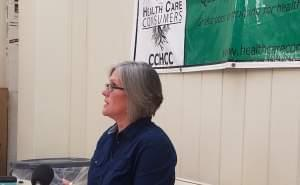 Champaign County Health Care Consumers Executive Director Claudia Lennhoff.
