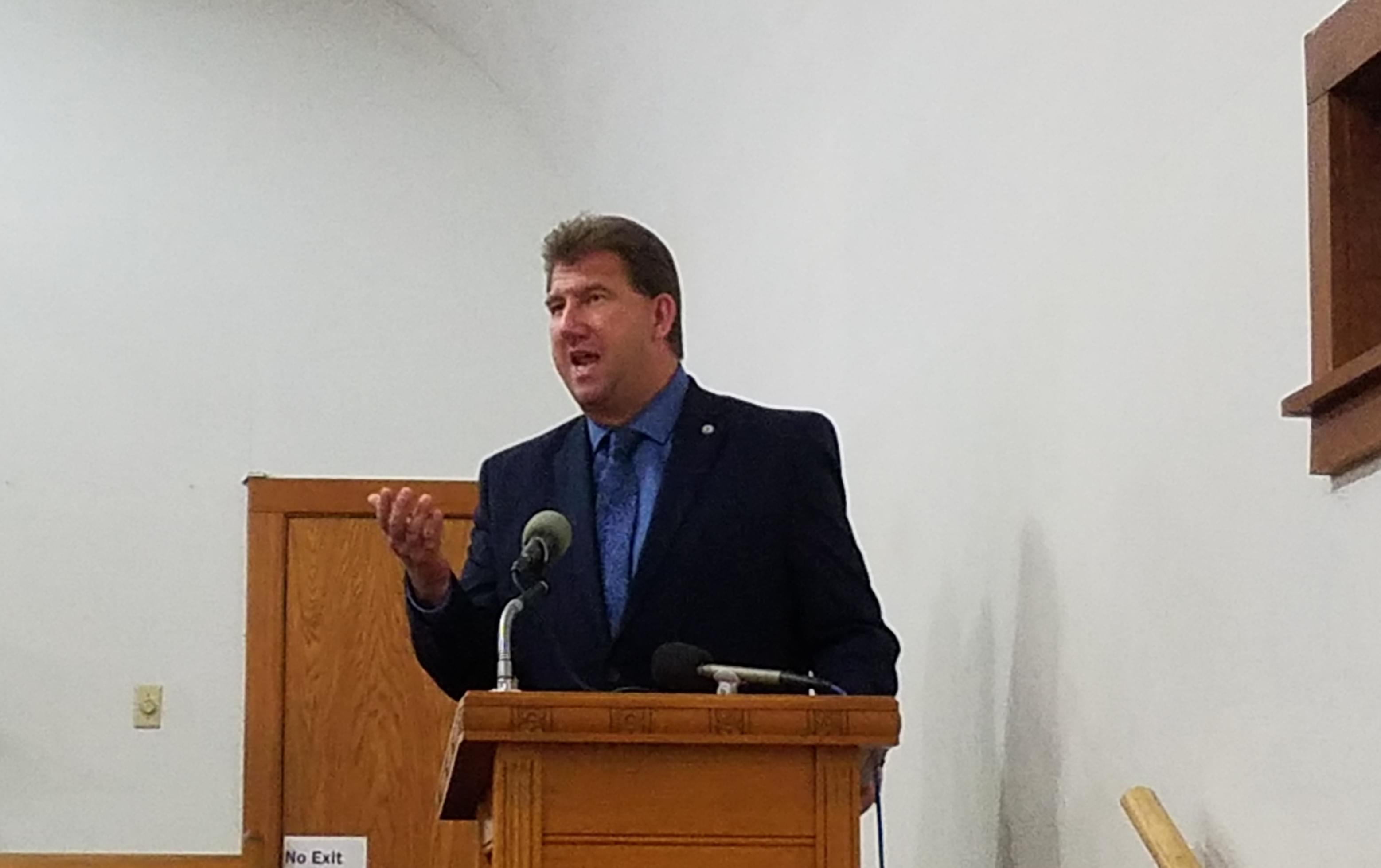 Danville Mayor Scott Eisenhauer