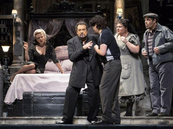 The Los Angeles Opera performs.