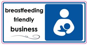 breastfeeding-friendly decal