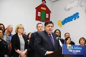 J.B. Pritzker announces his 35-member team of education advisors.