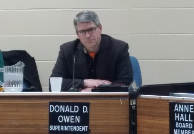 Former Urbana School Supt. Don Owen