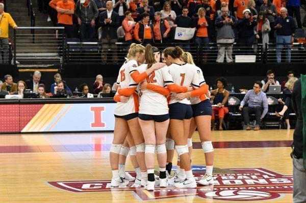 Illini Volleyball Falls To Nebraska In National Semifinals ...