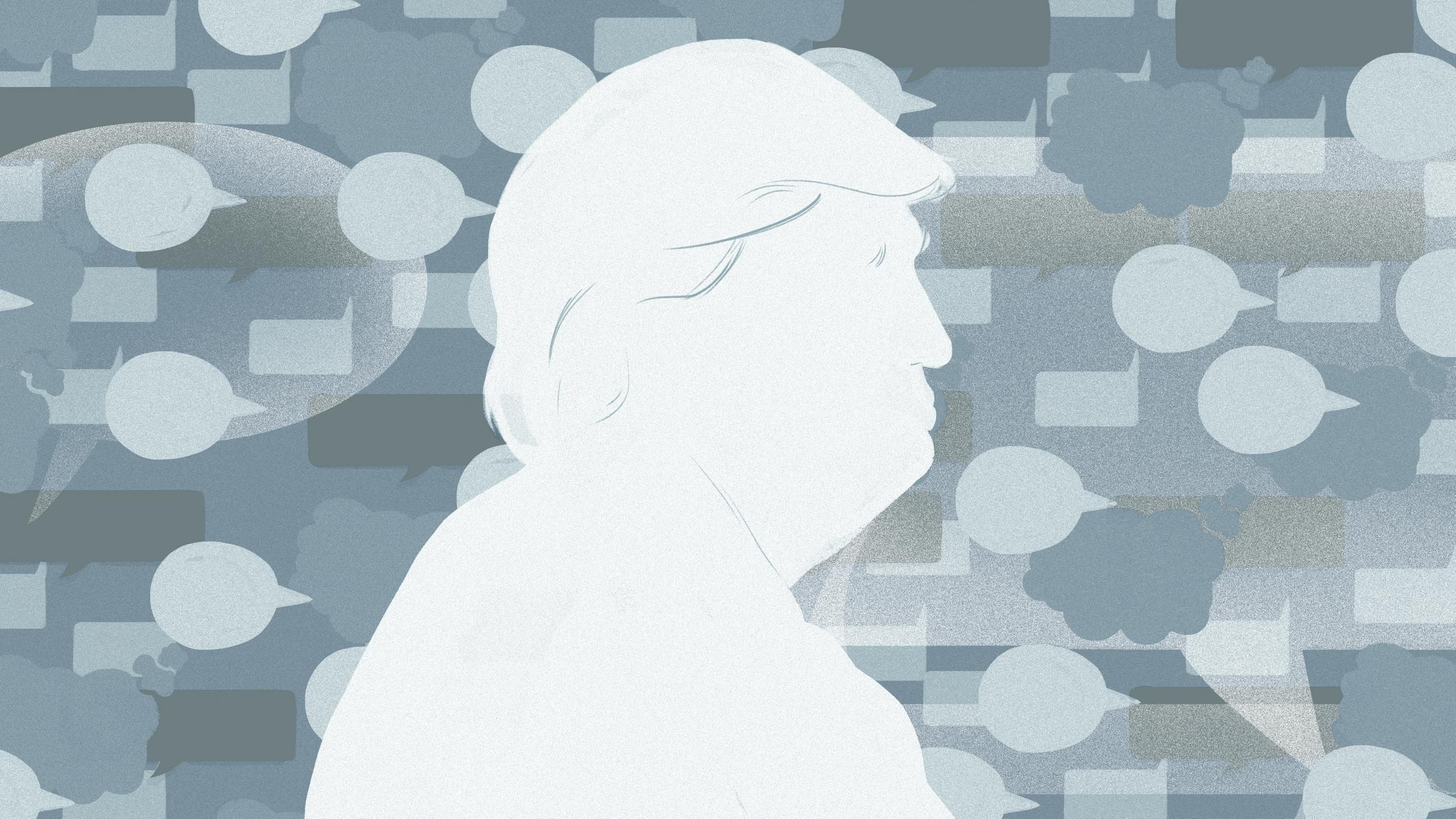 Illustration of President Donald Trump