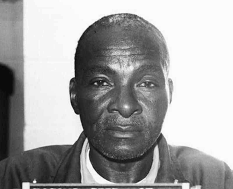 A mugshot of Grover Thompson in 1993.