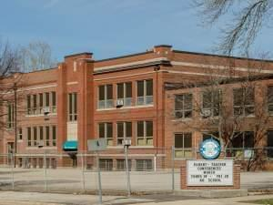 The former Dr. Howard elementary school in Champaign.