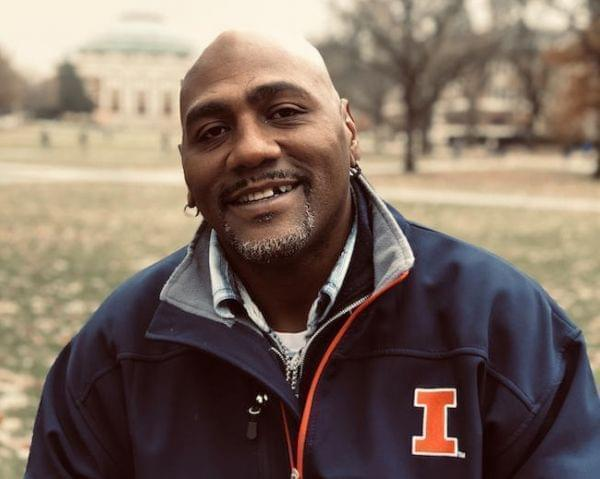 Perry Cline on the University of Illinois Urbana-Champaign campus.
