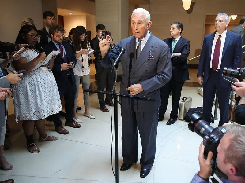 Republican political operative Roger Stone has been charged in connection with the Russian attack on the 2016 election.