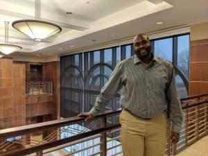 Jeremy Bell, of the Champaign County Regional Planning Commission, is the coordinator for the agency's Young Adult Reentry Program.
