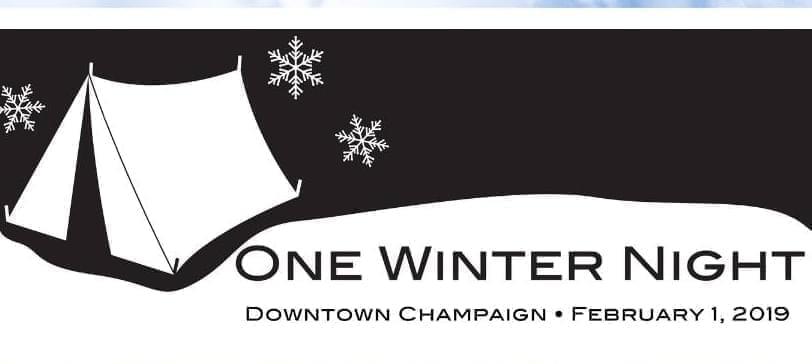 Logo for the One Winter Night event.