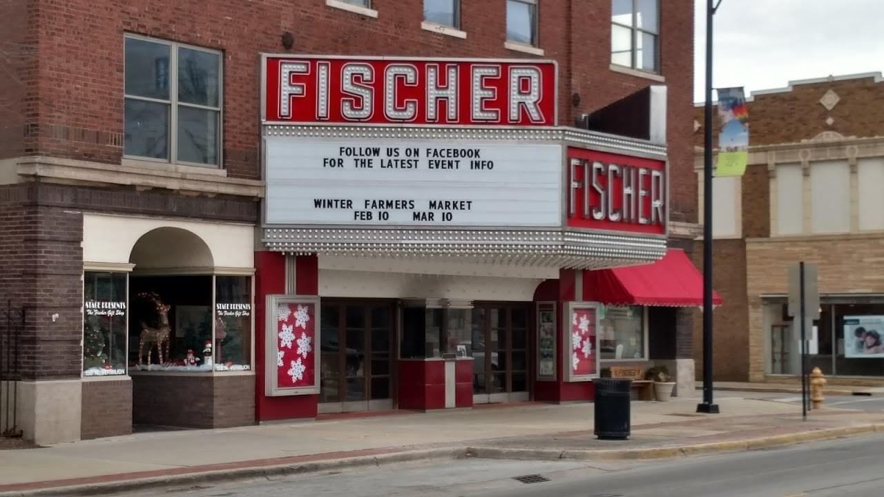 The Fischer Theatre in Danville, Illinois.