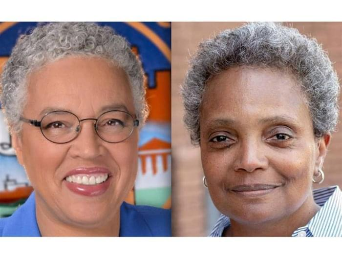Lori Lightfoot and Toni Preckwrinkle advance in Chicago's mayoral race. They will be on the ballot in a run-off on April 2.