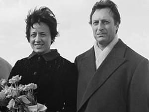 Marcella de Girolami and Carlo Maria Giulini in the Netherlands in 1965.