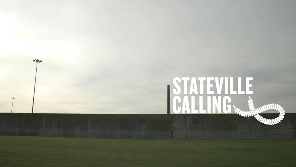 Screen shot from the documentary Stateville Calling.