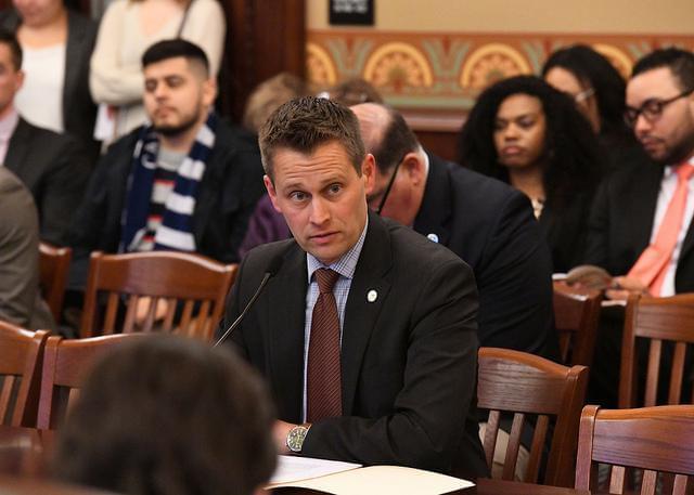 State Representative Joe Sosnowski at the Statehouse.