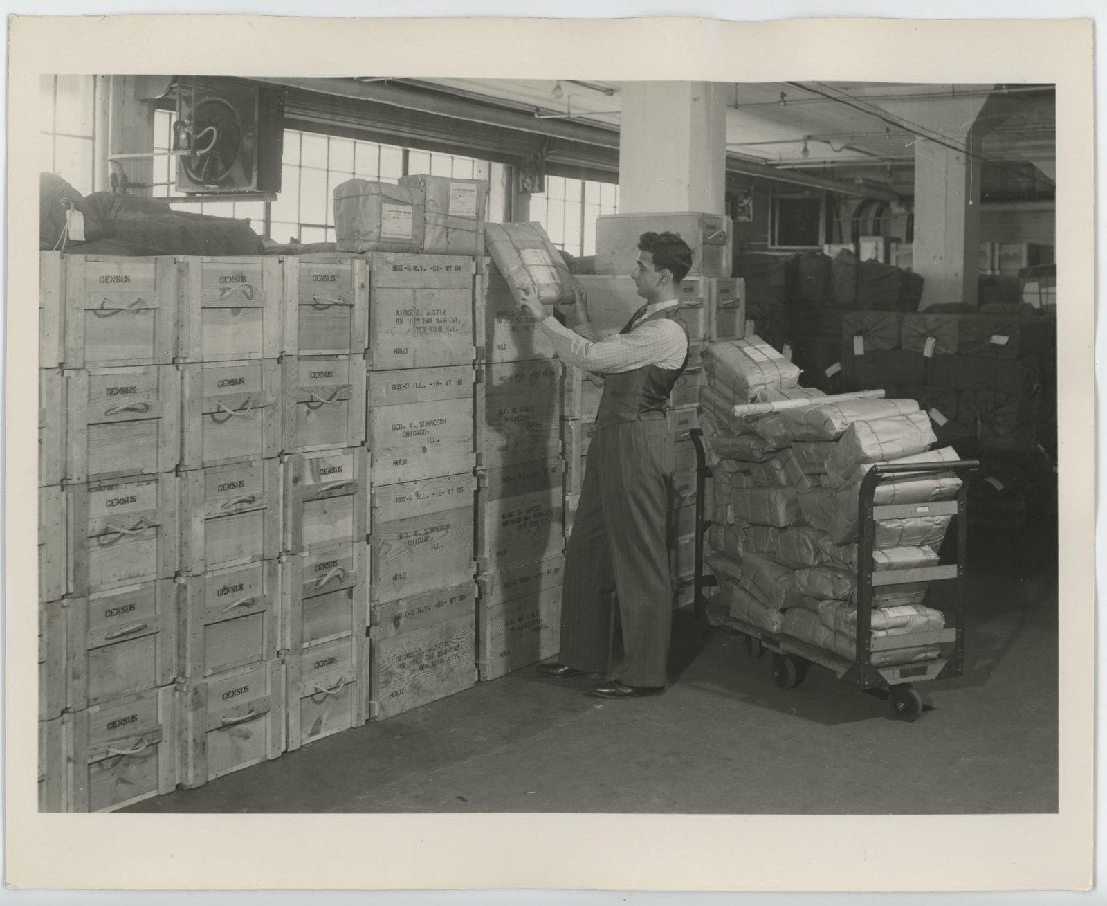1940 Census publicity photo.