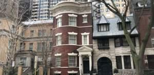 Illinois Gov. JB Pritzker and his wife, First Lady MK Pritzker, purchased a tan mansion and red brick home more than a decade ago in Chicago's upscale Gold Coast neighborhood.