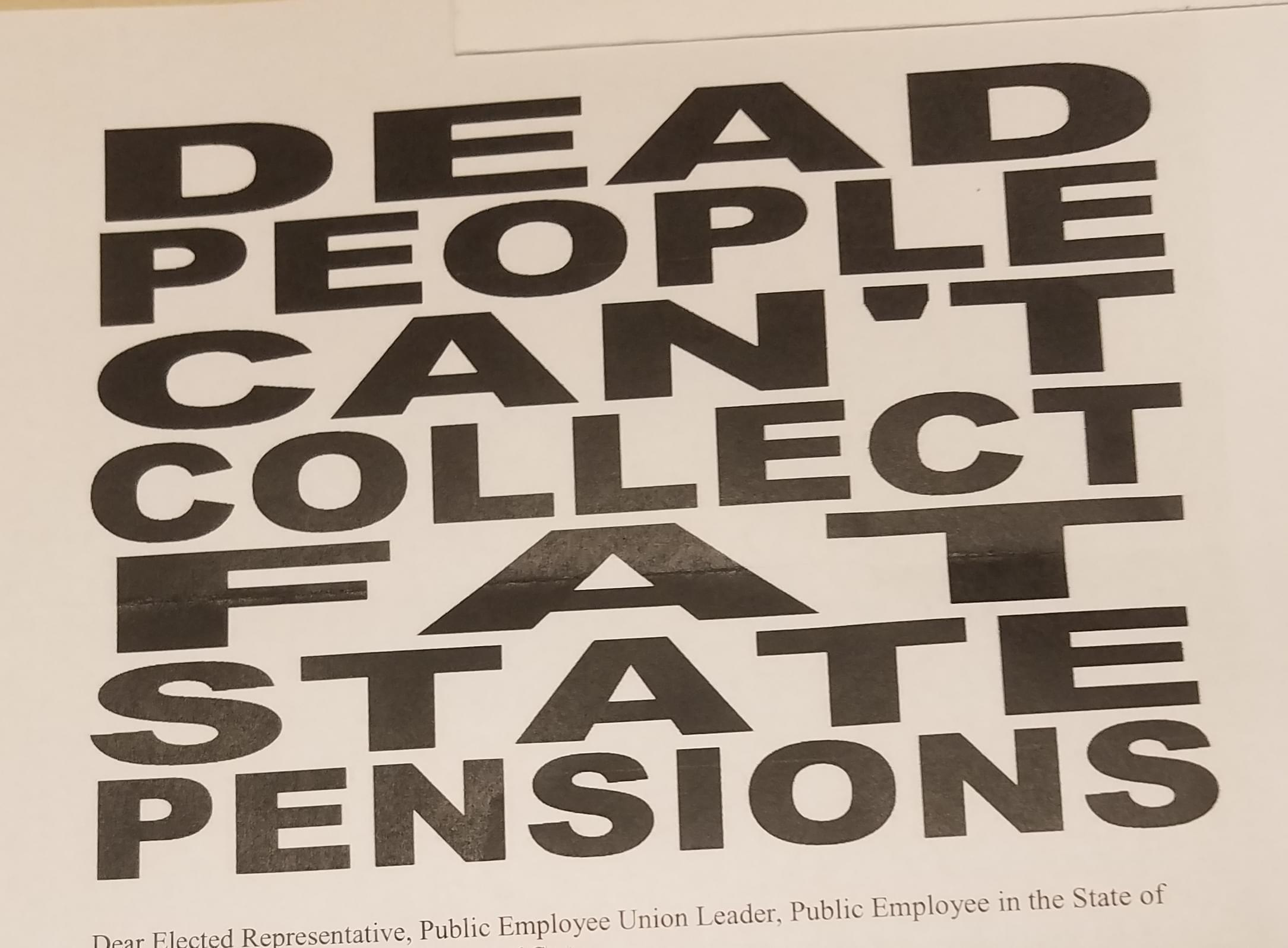 Letter Makes Death Threat To State Lawmakers & Others Over