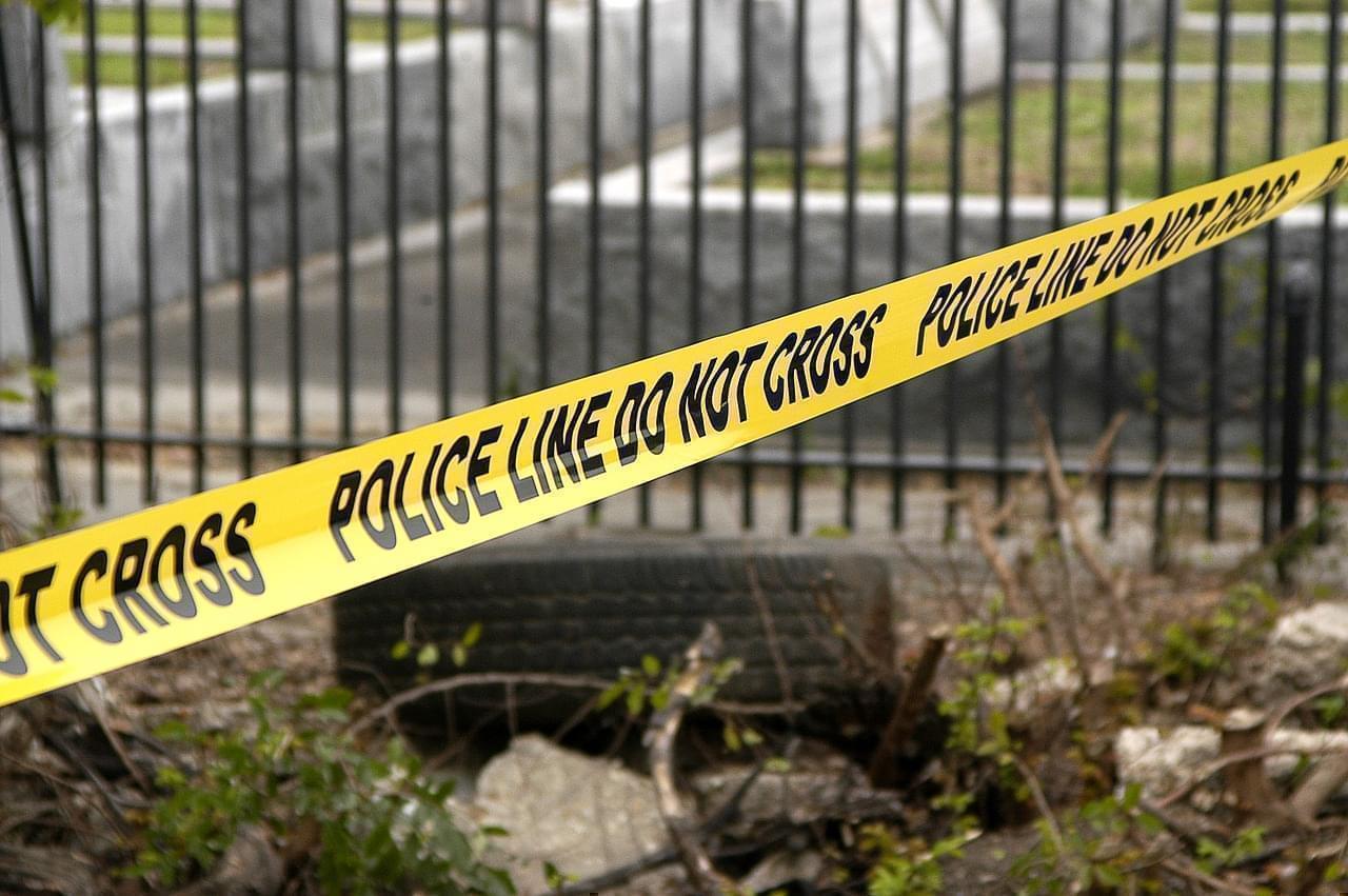 police line, crime scene