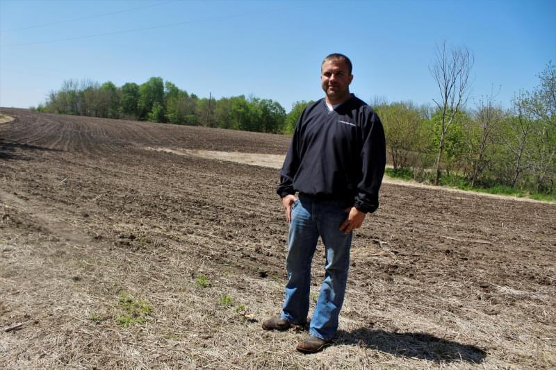 Jared Kunkle is a farmer in Warren County, Illinois, and president of the Warren-Henderson Farm Bureau.