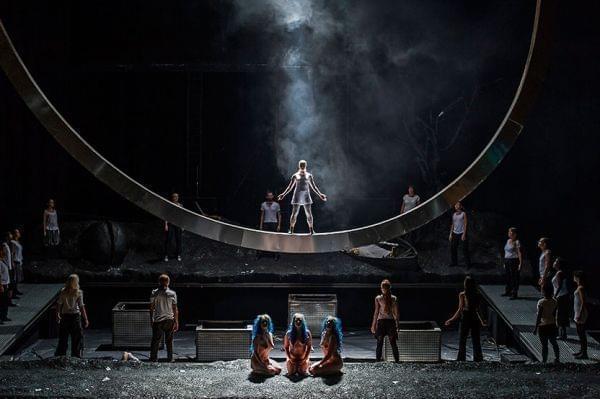 Royal Opera House performs Das Rheingold.