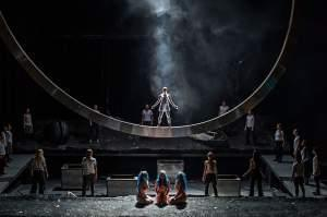 Royal Opera House performs Das Rheingold.