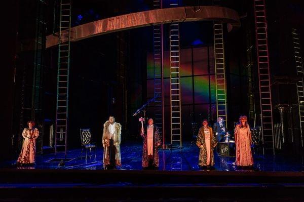 Royal Opera House performs Die Walküre.