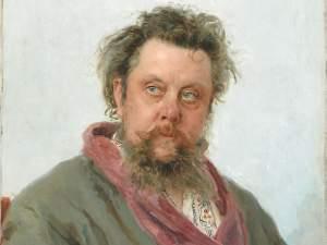 Painting of Modeste Mussorgsky