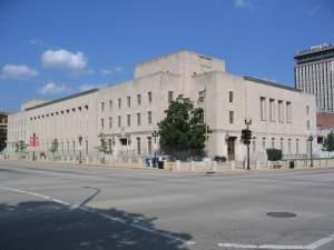The Federal Building and U.S. Courthouse in Peoria, Illinois.