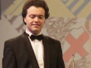 Evgeny Kissin at a concert with Israel Philharmonic Orchestra in Tel Aviv in 2011.