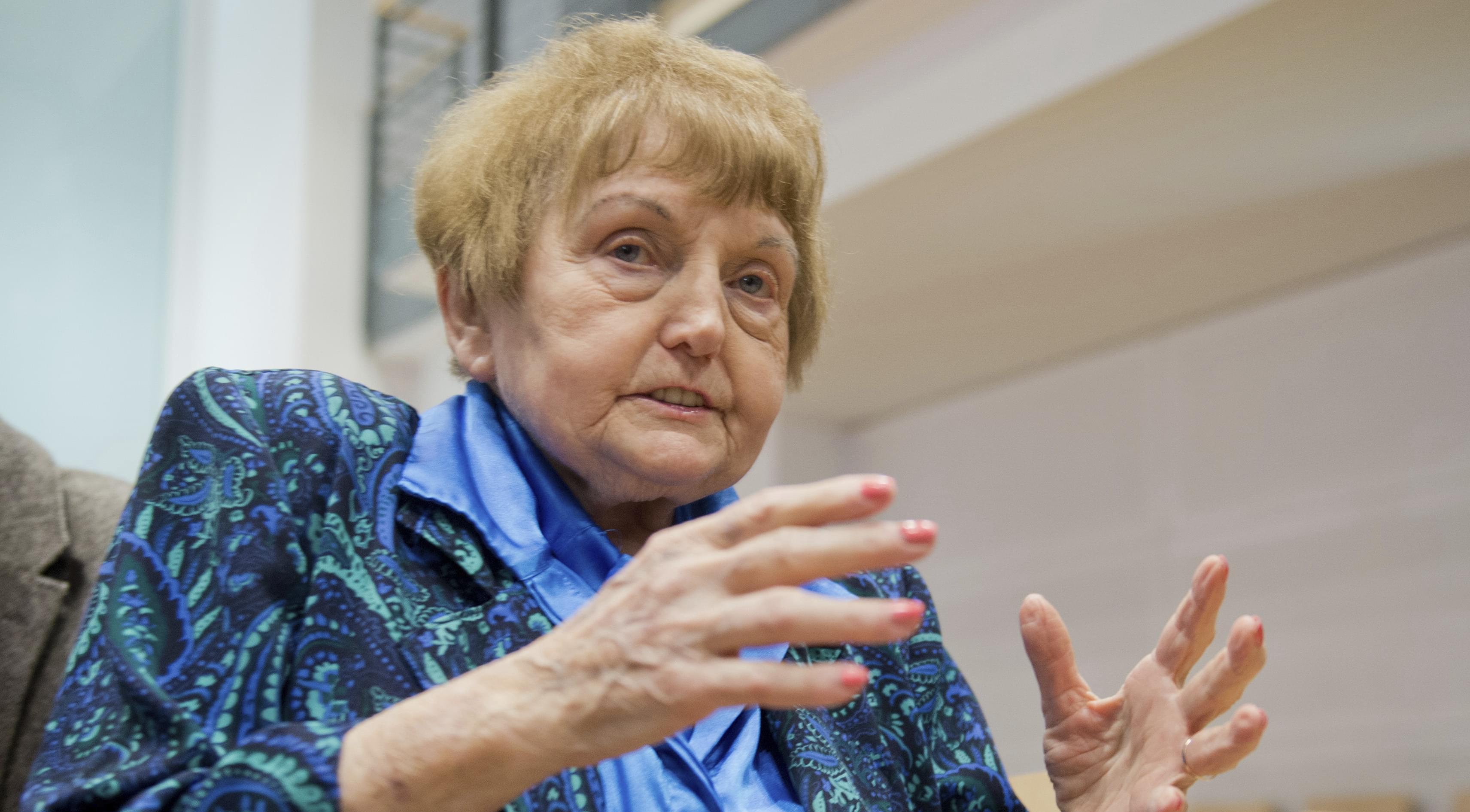 Holocaust survivor Eva Kor