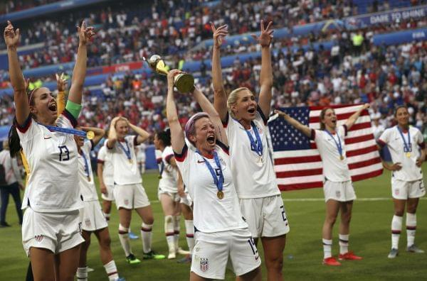 US Wins Women's World Cup