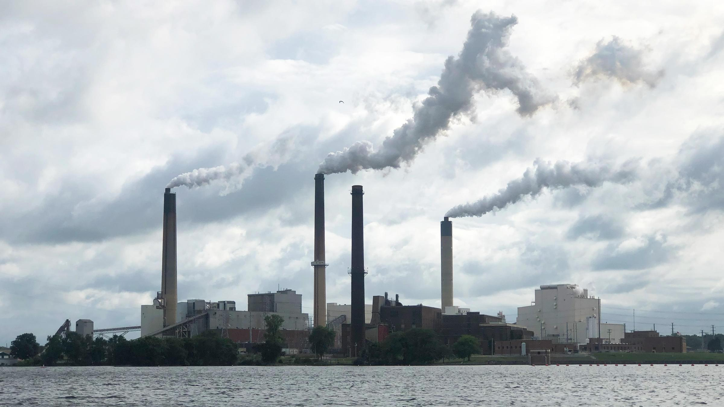 Springfield is the only city in Illinois to run its own coal plant - City Water, Light and Power, which sits on Lake Springfield.