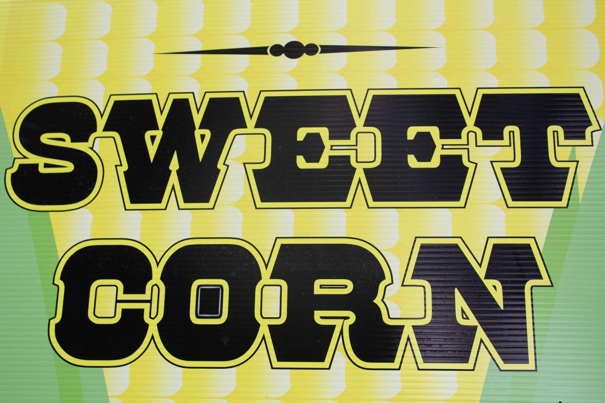 At the Iowa State Fair, there's free sweet corn on the last Friday.