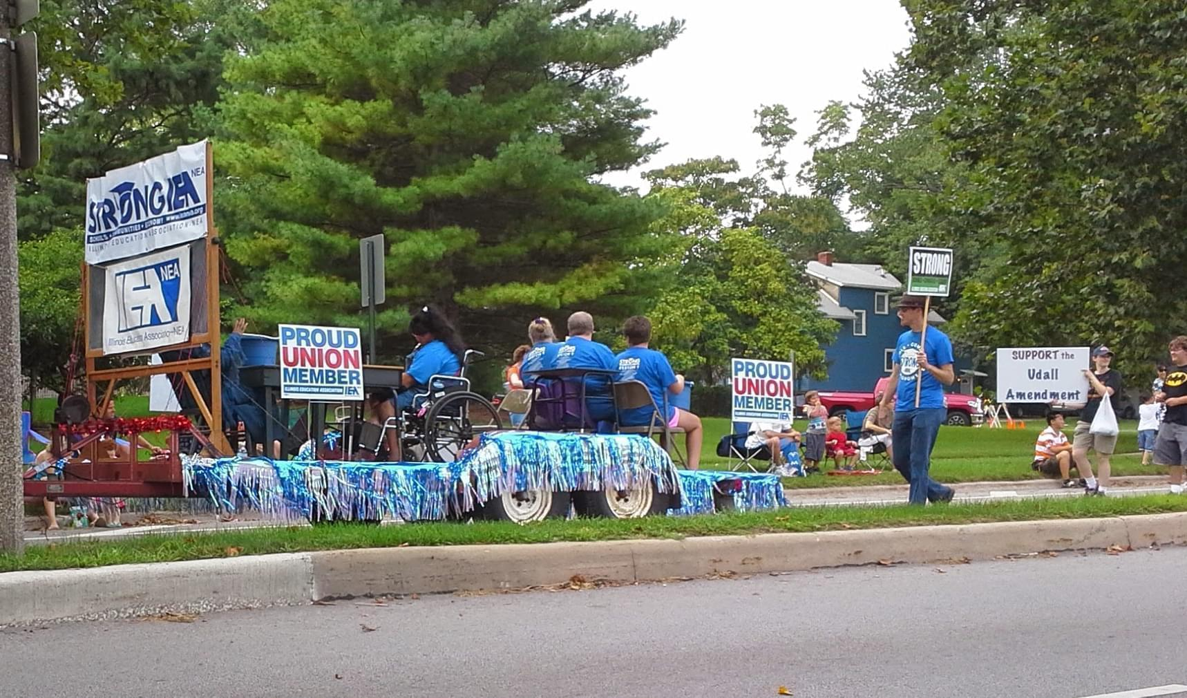 2014 Champaign County Labor Day Parade.