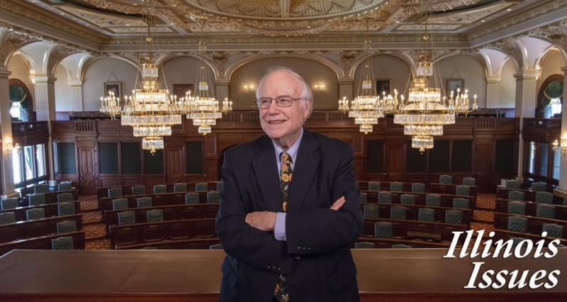 Charlie Wheeler began covering Illinois government five decades ago at the 1970 Constitutional Convention.