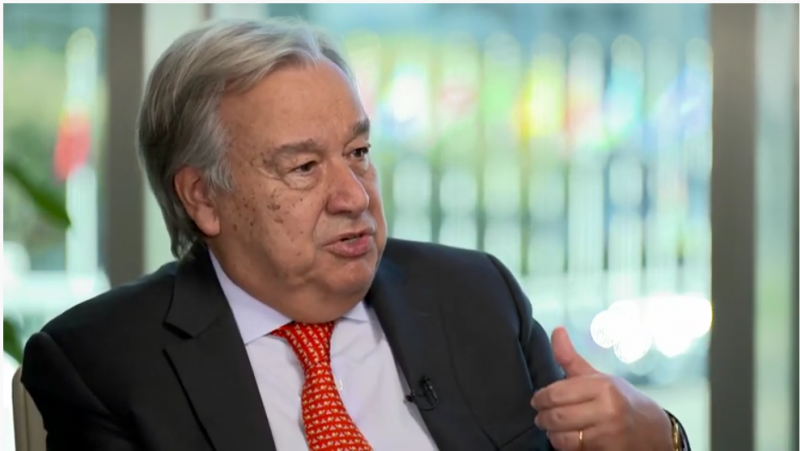 UN Secretary General António Guterres