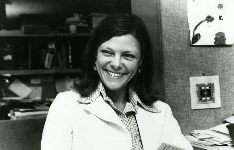 Cokie Roberts during her time at NPR.