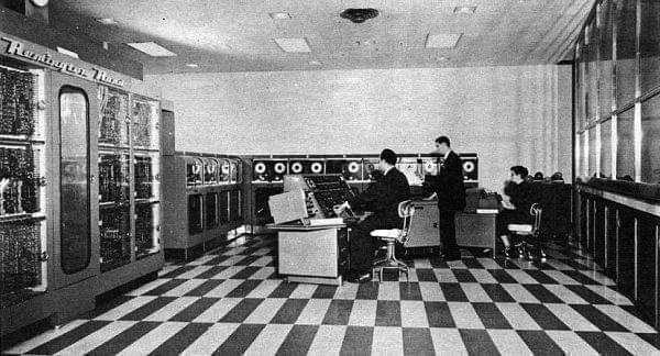UNIVAC I at the Franklin Life Insurance Company