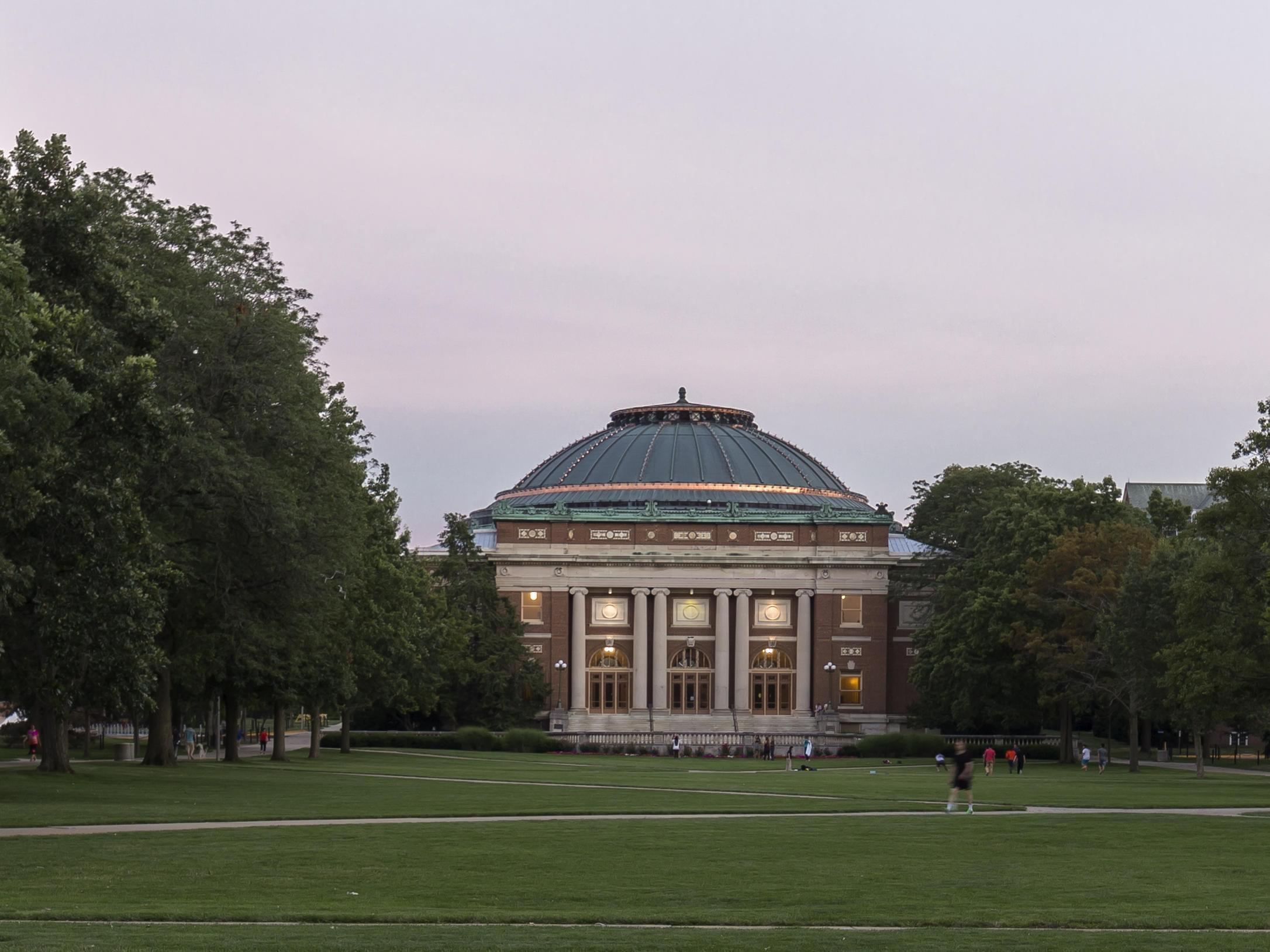 Foellinger Auditorium, University of Illinois at Urbana-Champaign.