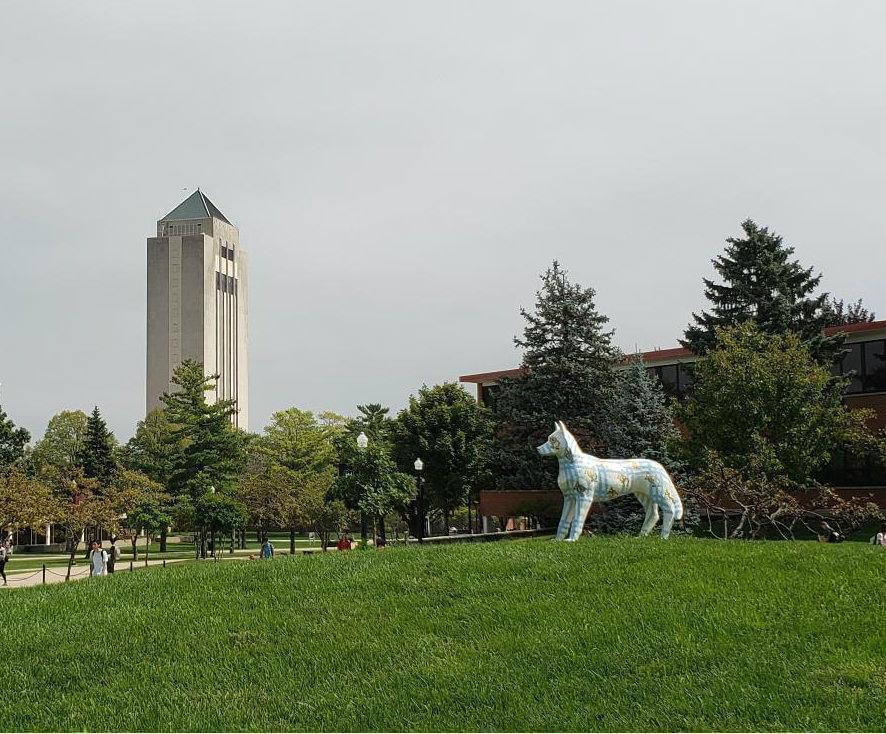 Holmes Student Center at Northern Illinois University.