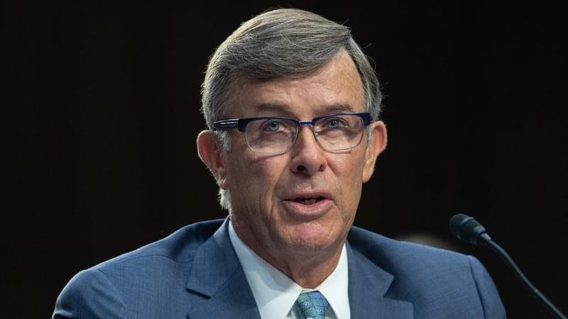 Acting Director of National Intelligence Joseph Maguire, pictured in July 2018, is testifying before the House and Senate intelligence committees on Thursday.