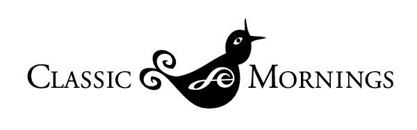 "Logo of a bird with the words ""classic morning."""